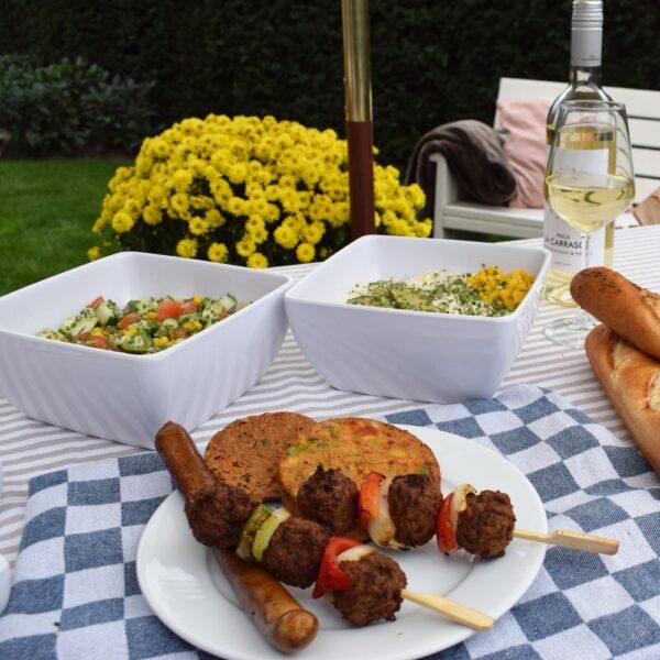 Dit is het Barbecue Pakket Vegetarisch van Barbecue Budding