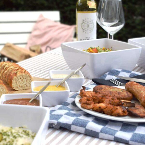 Dit is het Barbecuepakket Standaard van Barbecue Budding