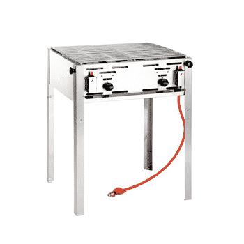 Barbecue tafelmodel huren bij Barbecue Budding